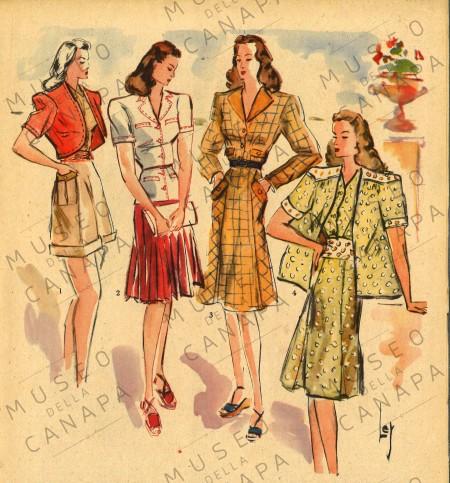 museo canapa moda fashion valnerina