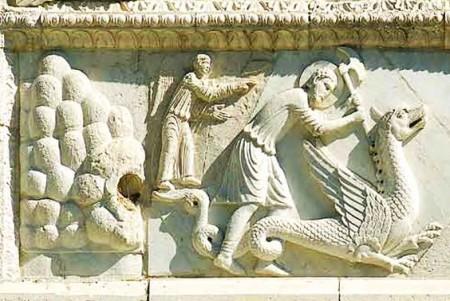 La leggenda del drago in Valnerina