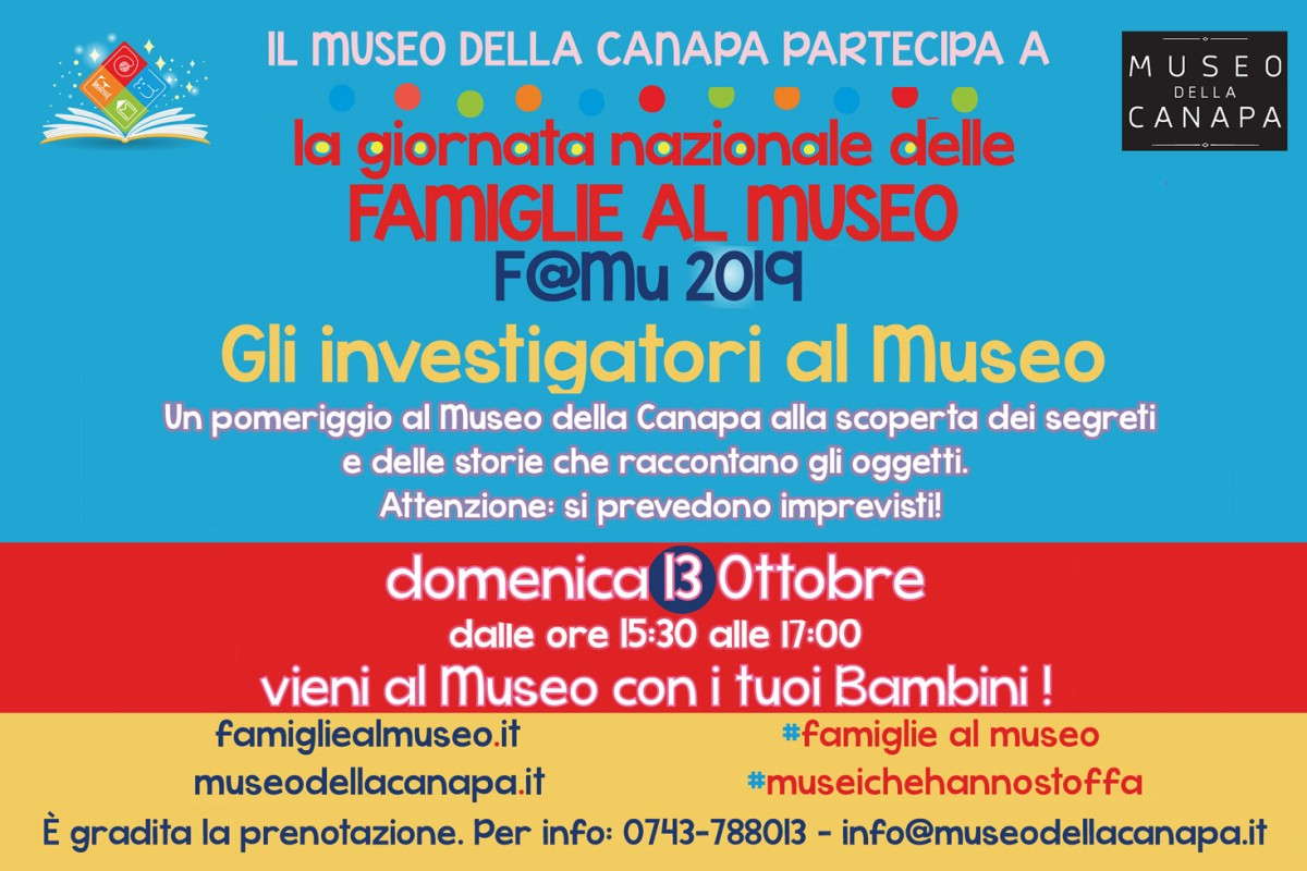 Gli investigatori al Museo