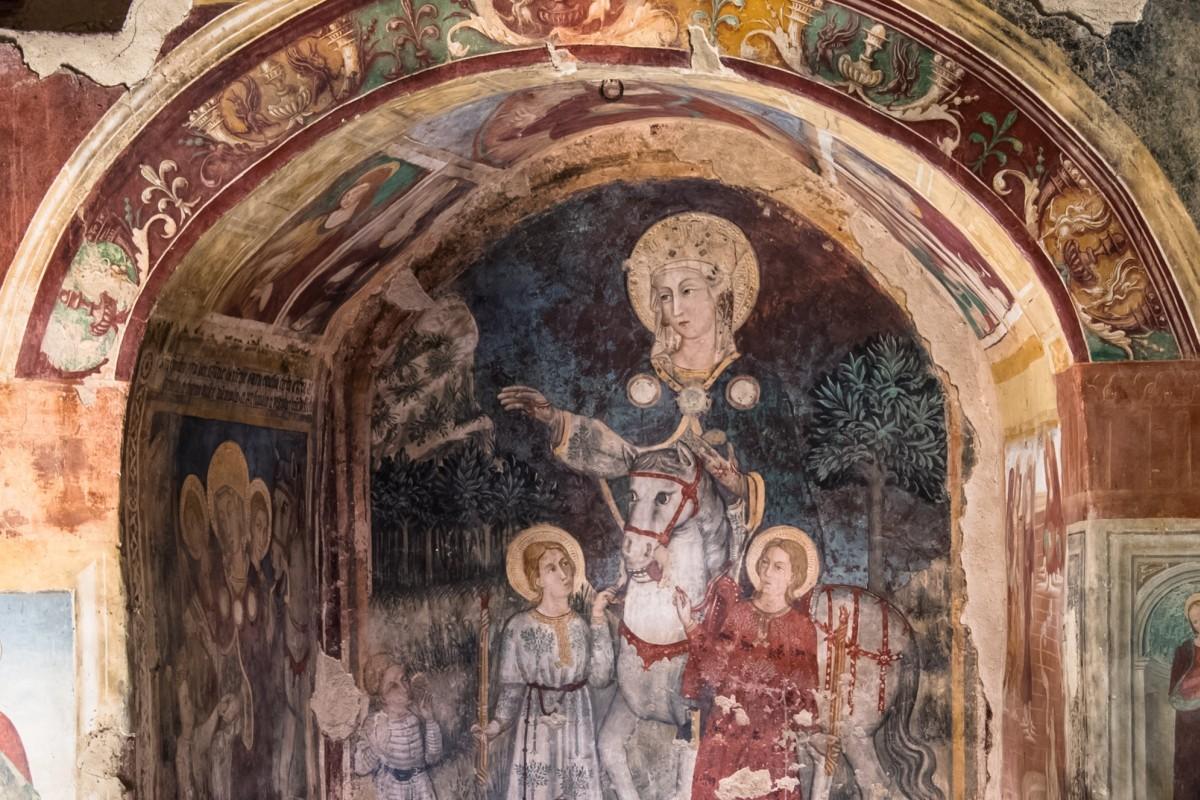 Inaugurazione del restauro del tetto della Chiesa di Santa Maria delle Grazie a Caso