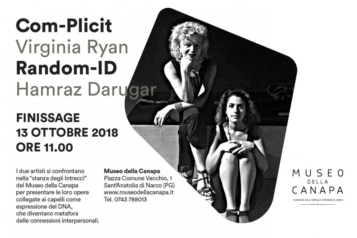 COM-PLICIT & RANDOM-ID – Finissage al Museo della Canapa