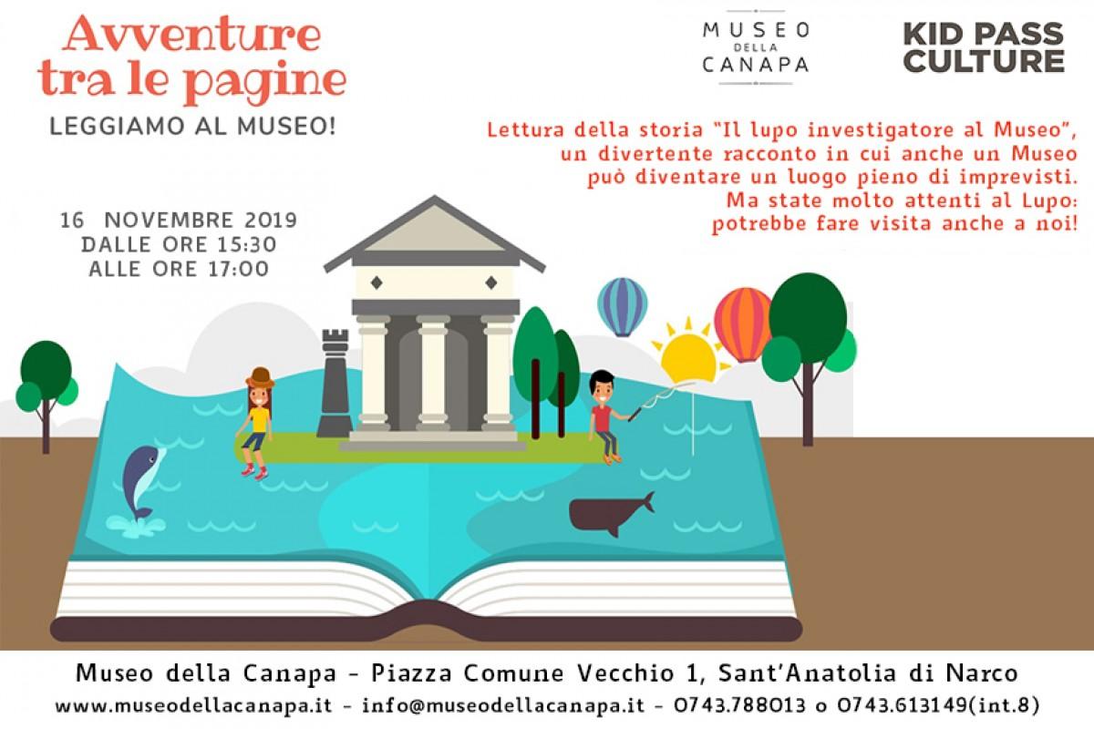 Avventure fra le pagine - Leggiamo al Museo ... della Canapa